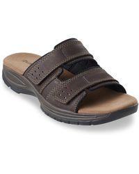 Dunham Big & Tall Bootmakers Newport Slide Sandals - Brown