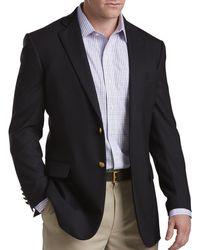 Brooks Brothers - Big & Tall Classic Navy Blazer - Lyst