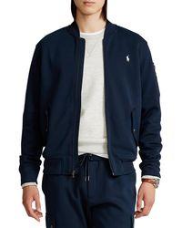 Polo Ralph Lauren - Big & Tall Double-knit Bomber Jacket - Lyst