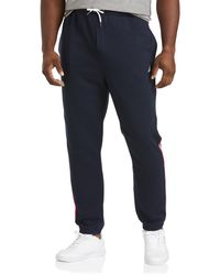 Nautica Big & Tall Heritage Sweatpants - Blue