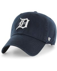 47 Brand Big & Tall ' Mlb Extended Size Clean Up Baseball Cap - Blue