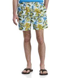 Tommy Bahama Big & Tall Naples Tikis In The Tropics Swim Trunks - Green