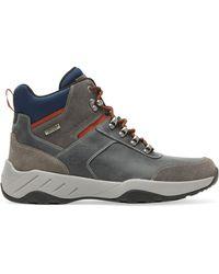 Rockport Big & Tall Xcs Spruce Peak Trekker Boots - Gray
