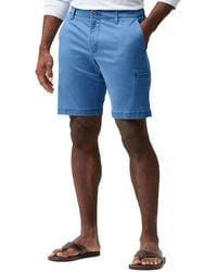 Tommy Bahama Big & Tall Boracay Cargo Shorts - Blue