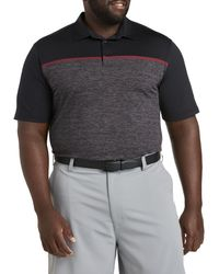 Big & Tall Speedwick Chest Graphic Polo Shirt