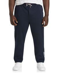 Nautica Big & Tall Double-knit Sweatpants - Blue