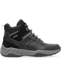 Rockport Big & Tall Xcs Spruce Peak Trekker Boots - Black