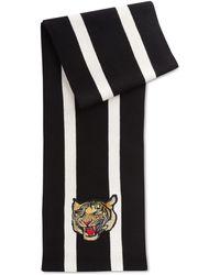 Polo Ralph Lauren Big & Tall Tiger Scarf - Black