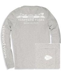 Vineyard Vines Big & Tall Nfl Stadium Tee - Multicolor