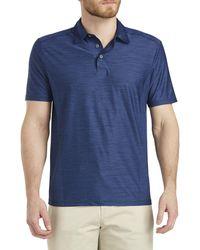 Tommy Bahama Big & Tall Coast Performance Polo Shirt - Blue