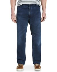 Levi's Big & Tall Levi's 559 Relaxed Straight Fit Stretch Jeans - Blue