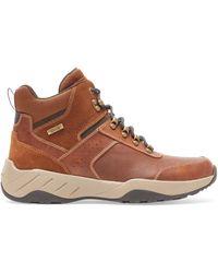 Rockport Big & Tall Xcs Spruce Peak Trekker Boots - Brown