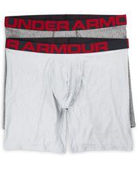 Under Armour Big & Tall 2-pk 9&quot Boxerjock Boxer Briefs - Multicolor