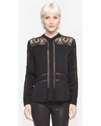 Sea Lace Combo Long Sleeve - Lyst