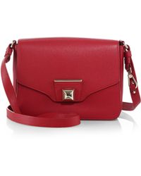 Furla Exclusively For Saks Fifth Avenue Angel Small Shoulder Bag - Lyst
