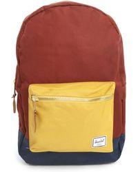 Herschel Supply Co. Settlement Brick-Red Tricolour Backpack - Lyst