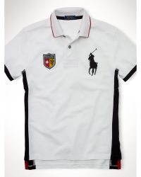 Polo Ralph Lauren Custom-fit Country Polo Shirt - Lyst