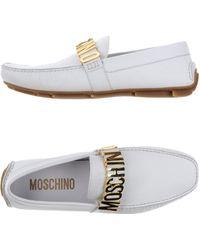 Moschino - Moccasins - Lyst