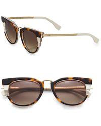Fendi Cats Eye Sunglasses - Lyst