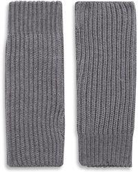 JOSEPH - Wool Cardigan Stitch Mittens - Lyst