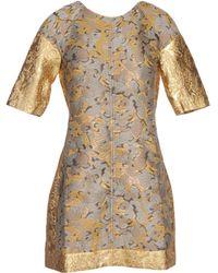 Ostwald Helgason Short Dress - Brown