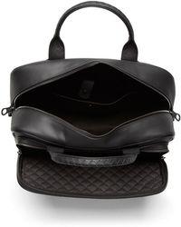 Bottega Veneta Carry On Bag In Nero Intrecciato Vn - Black
