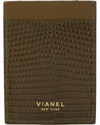 Vianel - Lizard V1 Card Case - Lyst