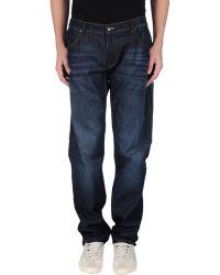 Thomas Pink Denim Trousers - Blue