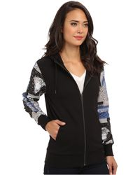 Crooks and Castles - Knit Zip Hood  - Lyst