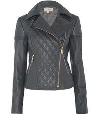 Temperley London Rolin Leather Jacket - Lyst