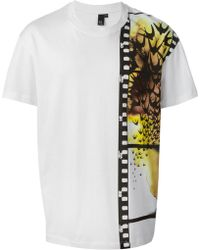 McQ by Alexander McQueen Swallows On Film Print T-shirt - Lyst