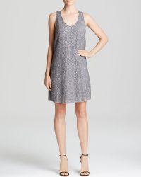 Joie Dress - Peri F Sequin Silk Crepe - Lyst