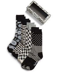 Happy Socks | Multi-pattern Boxed Set, Pack Of 4 | Lyst