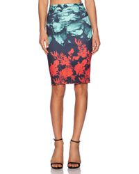 Clover Canyon Hidden Jungle Skirt - Lyst