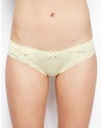 Jack Wills Lace Pant - Yellow