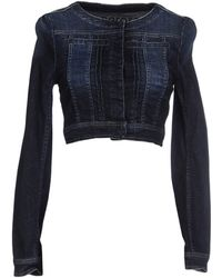 Peperosa Denim Outerwear - Blue