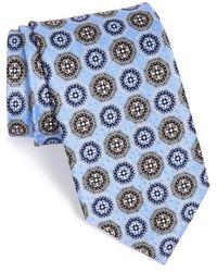 JZ Richards - Medallion Silk Tie - Lyst
