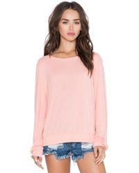 Wildfox Essential Bbj pink - Lyst