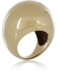 By Malene Birger Lil Goldplated Ring - Lyst