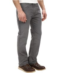 Carhartt Weathered Duck Five-Pocket Pant - Lyst