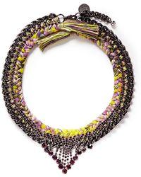 Venessa Arizaga - 'Tropical Night' Necklace - Lyst