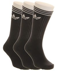 Adidas Crew Sock Solid 3 Pack - Lyst