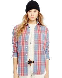 Polo Ralph Lauren Flannel Twill Shirt - Lyst