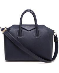 Givenchy Medium Antigona Leather Bag - Lyst