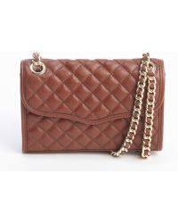 Rebecca Minkoff Mahogany Quilted Leather Mini Affair Shoulder Bag - Lyst