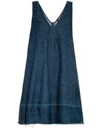 Rachel Comey Flee Denim Dress - Lyst