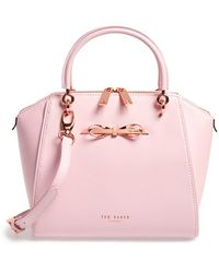 Ted Baker 'Small' Slim Bow Tote - Lyst