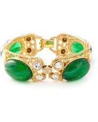 Moschino Gemstone Bracelet - Lyst