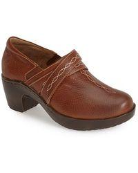 Ariat   'ellie' Leather Clog   Lyst