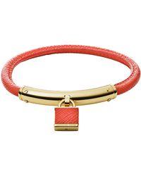 Michael Kors Padlock Bracelet - Lyst